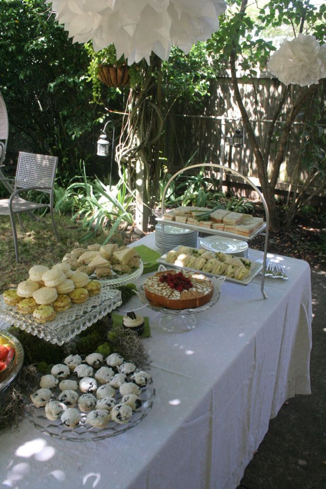 Food Ideas Bridal Shower Tea