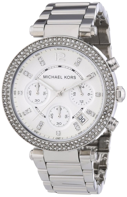 Michael Kors Women's MK5353 Parker Silver Watch | Beautiful best casual watches