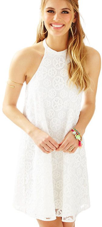 Lilly Pulitzer Quinn Halter Swing Dress