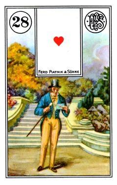 Nguy cơ Kết Hợp Lá Bài Lenormand Gentleman (28) bài tarot