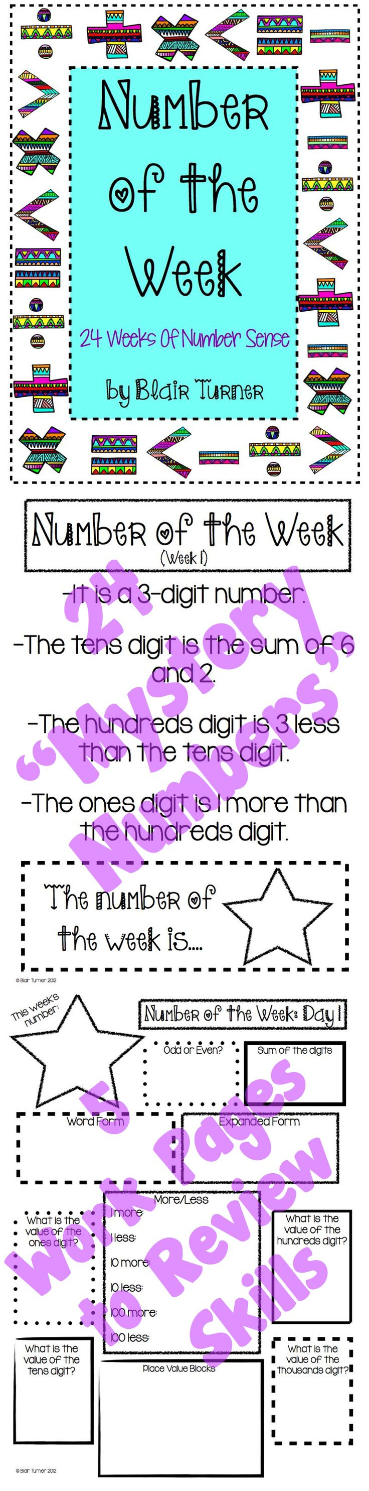 Worksheet Math Problem Of The Day 4th Grade 1000 images about math 4th gr problem of the day morning work on this product is designed for grades 3 and up to develop number sense sharpen solving skills common core really e