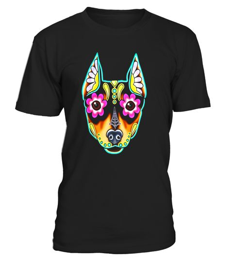 "# Min Pin - Day of the Dead Miniature Doberman Pinscher .  Special Offer, not available in shops      Comes in a variety of styles and colours      Buy yours now before it is too late!      Secured payment via Visa / Mastercard / Amex / PayPal      How to place an order            Choose the model from the drop-down menu      Click on ""Buy it now""      Choose the size and the quantity      Add your delivery address and bank details      And that's it!      Tags: This beautiful Dia de los…"
