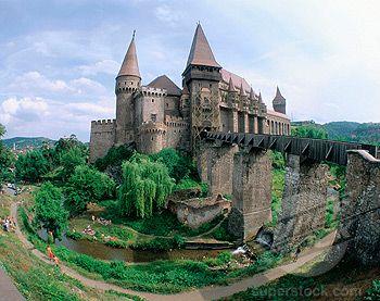 Hunedoara Castle. Transylvania. Romania.