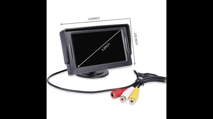 Noiposi Backup Camera - Car Backup Camera - Aftermarket Backup Camera