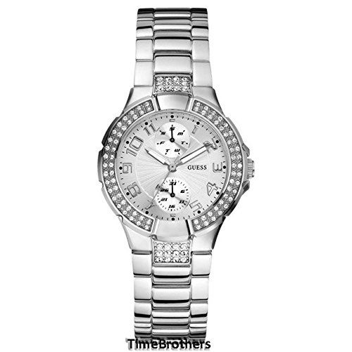 GUESS U12003L1 Status IntheRound Watch Silver    More info could be found  at the image 03f0d83a248d