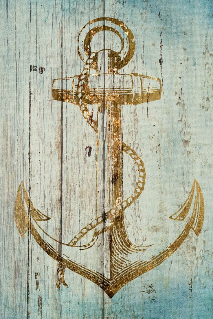 Sea Anchor Painting Print