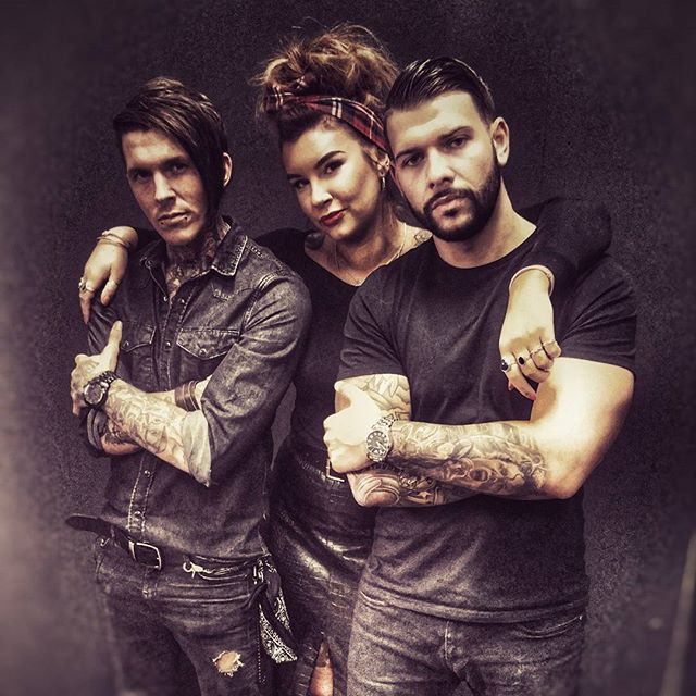 Tattoo Fixers: Sketch, Alice and Jay ~ THE best tattoo program I've ever watched.