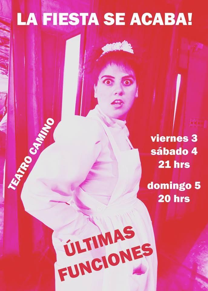 ÚLTIMAS FUNCIONES!! UNA FIESTA PARA BORIS en Teatro Camino