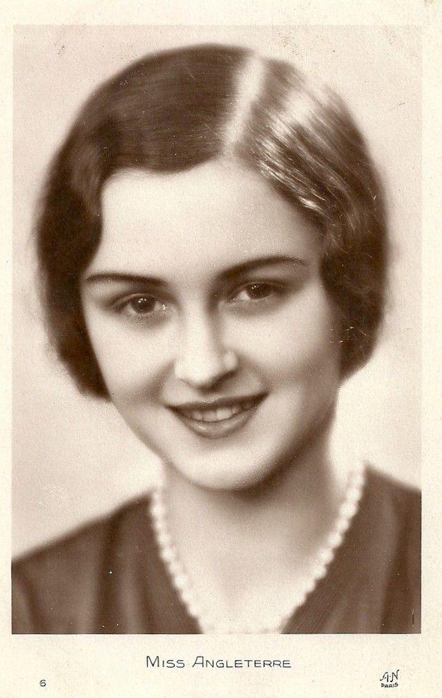 Ретрокрасавицы с конкурса «Мисс Европа — 1930» 16. Мисс Англия Марджори Росс.