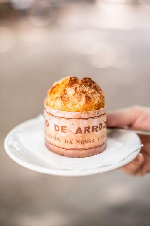 Bolo de Arroz/rice cake | #portuguese_food #portuguese_sweets #portugal