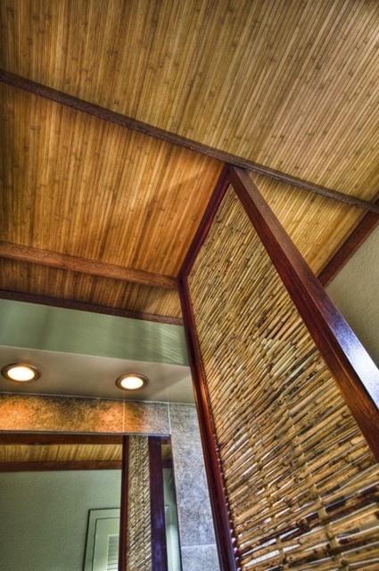 Bamboo Ceiling For Lanai Basement Ideas Pinterest