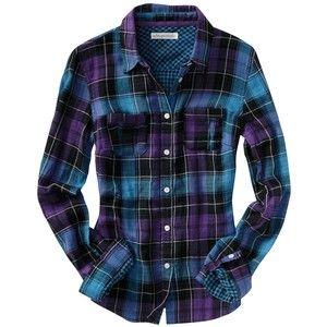 Aeropostale - Long Sleeve Violet Plaid Shirt - Aéropostale - Polyvore
