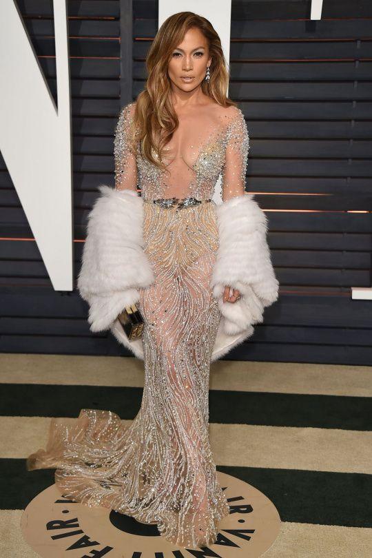 Naked dress a Jennifer Lopez | Marianne