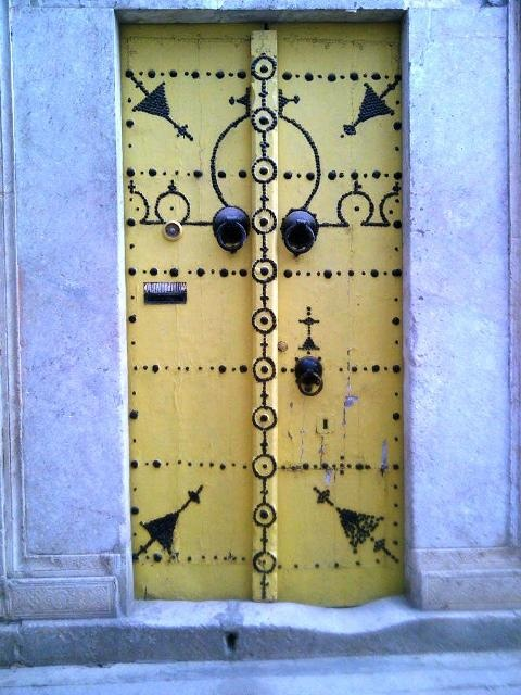 Porte Medina Tunisie
