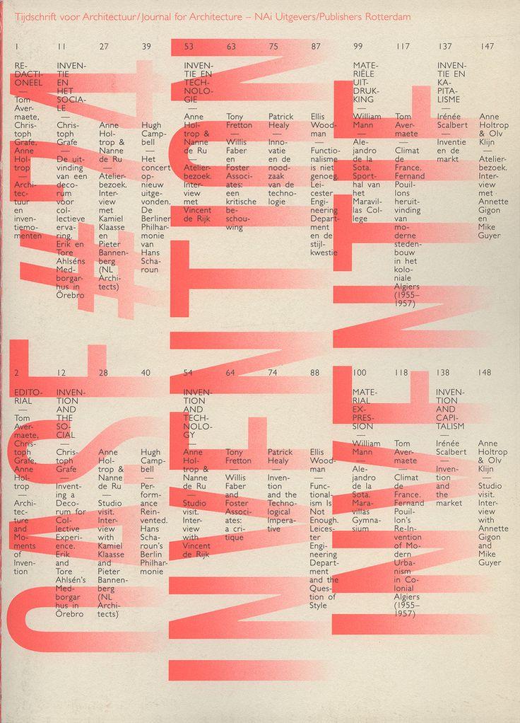 Karel Martens - OASE 74 2008