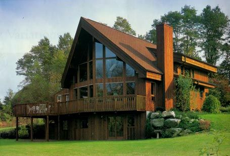 The Lakehouse (Without Keanu): Lindal Cedar Homes