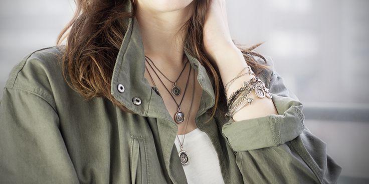 Pyrrha Jewelry - Our Favorite! Check it out:  http://www.adventureallies.com/#!7-Stylish-Socially-Responsible-Businesses/c21kp/56d3d3a10cf25656cb4a9327 Source: pyrrha.com