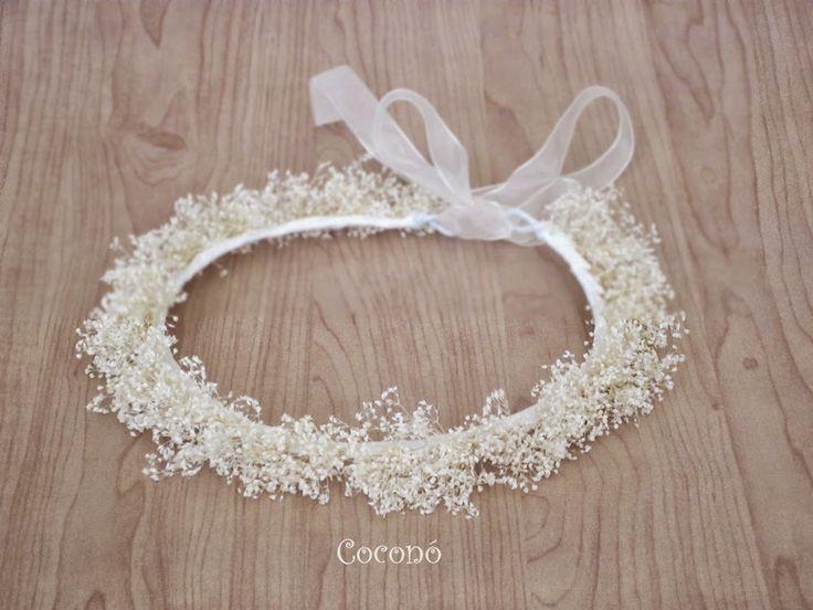 Corona flores niña Coconó