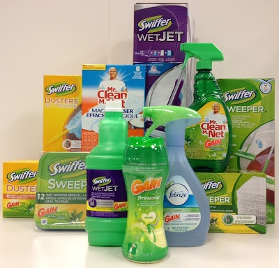 Win Spring Cleaning products! #PGmom