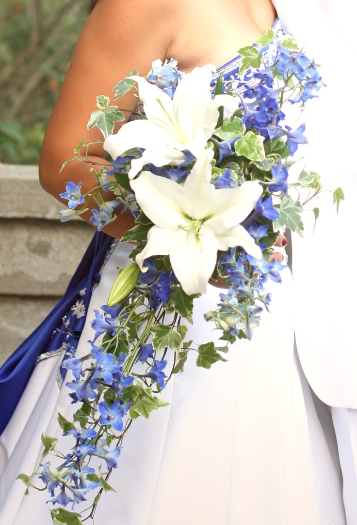 132 best images about bouquet options light blue purple wedding on pinterest cascading. Black Bedroom Furniture Sets. Home Design Ideas
