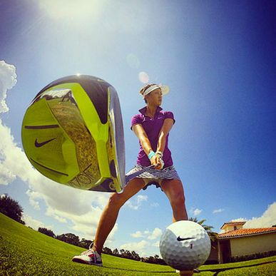 Michelle Wie Tested The New Nike Vapor Driver. -Golf Digest #golfballsunlimited.com