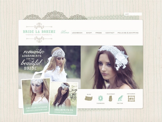 Website Design  Wordpress Website and Blog by Squidlimbs on Etsy, $980.00