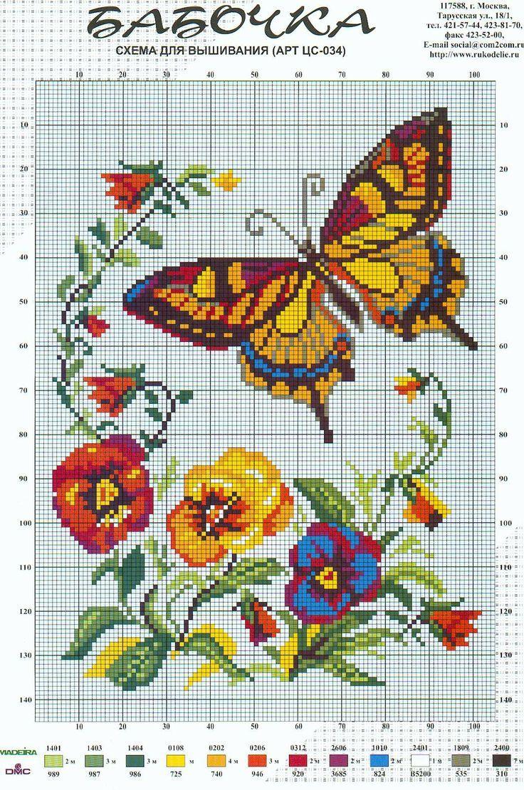 papallones i pensaments