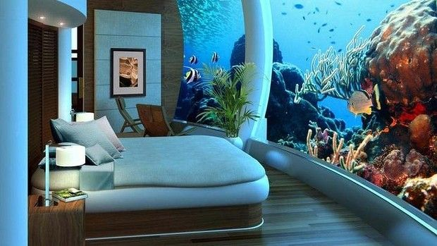 A bedroom in the proposed Vivos Europa One - the mega bunker for billionaires.