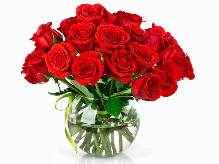 Rosas ecuatorianas en florero tipo pecera, modelo octay de www.floreriasumonte.cl categoría floreros.