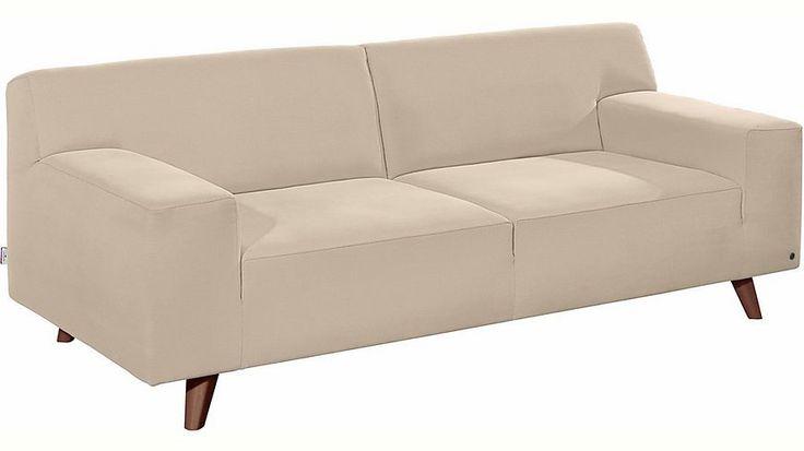 TOM TAILOR 2-Sitzer Sofa »NORDIC PURE« im Retrolook, Füße nussbaumfarben Jetzt bestellen unter: https://moebel.ladendirekt.de/wohnzimmer/sofas/2-und-3-sitzer-sofas/?uid=2a8d2d45-639b-5251-a1ba-4ff200b84634&utm_source=pinterest&utm_medium=pin&utm_campaign=boards #sofas #3sitzersofas #wohnzimmer