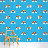 "Found it at AllModern - 2.17' x 26"" Rainbows Wallpaper"