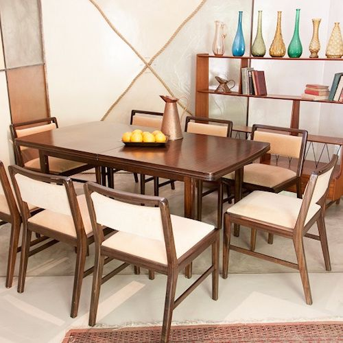 """Amazing """"D.S. Vorster"""" Danish Style Extendable Dining Table In Solid Wood - Read more here: http://bit.ly/2eWum5l"""