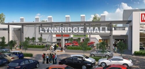 Lynnridge Mall, Skyscape Architects, Refurbishment of existing shopping mall in Lynnwood Ridge, Pretoria for Dorpstraat Developments. Architecture, contemporary, design, modern, retail, foodcourt
