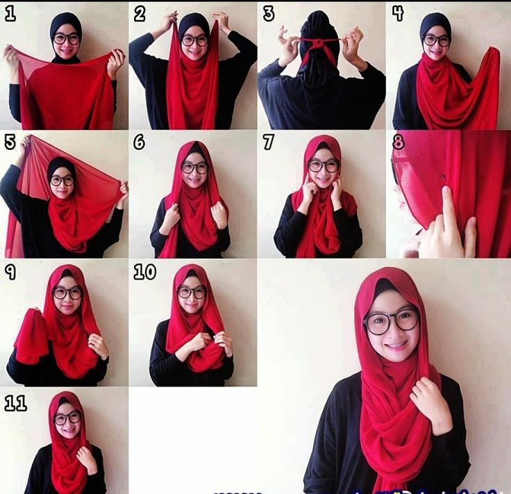 cara hijab praktis dan modis