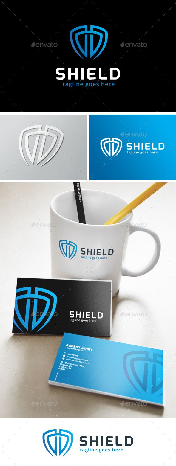 Smart Shield Logo Template #design #logotype Download: http://graphicriver.net/item/smart-shield-logo/13538314?ref=ksioks