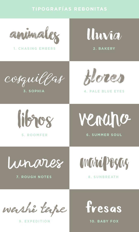 milowcostblog: recursos molongos: 40 tipografías rebonitas