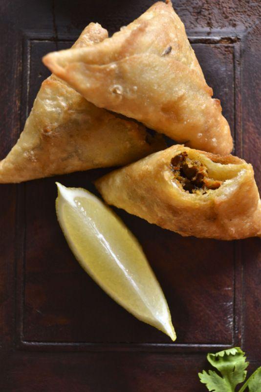 Beef Samosas Recipe — Dishmaps