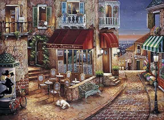 John O'Brien - Cafe Romantique