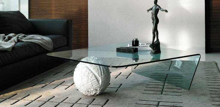 Globus moderní skleněný konferenční stolek do obývacího pokoje / coffee table with glass top