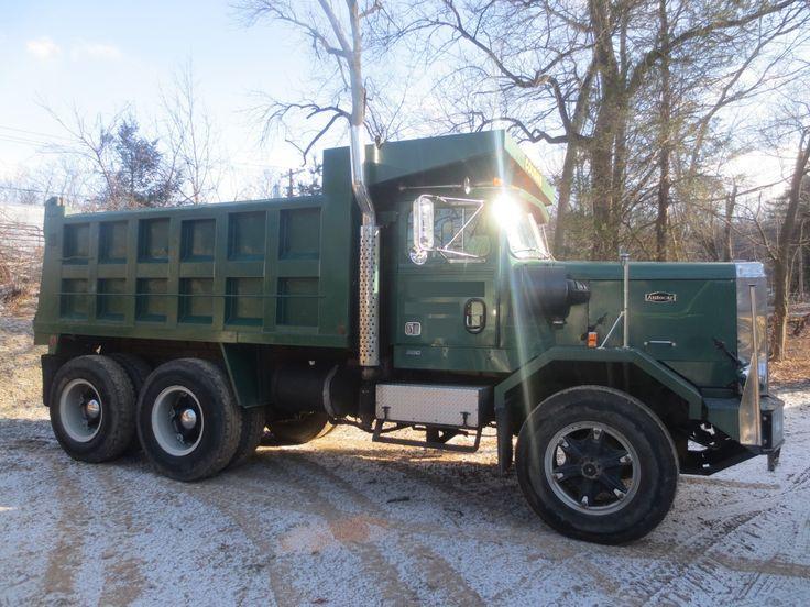 autocar+dump+truck+for+sale | Autocar Commercial Trucks: 1987 Autocar Dump Truck DK64 For Sale