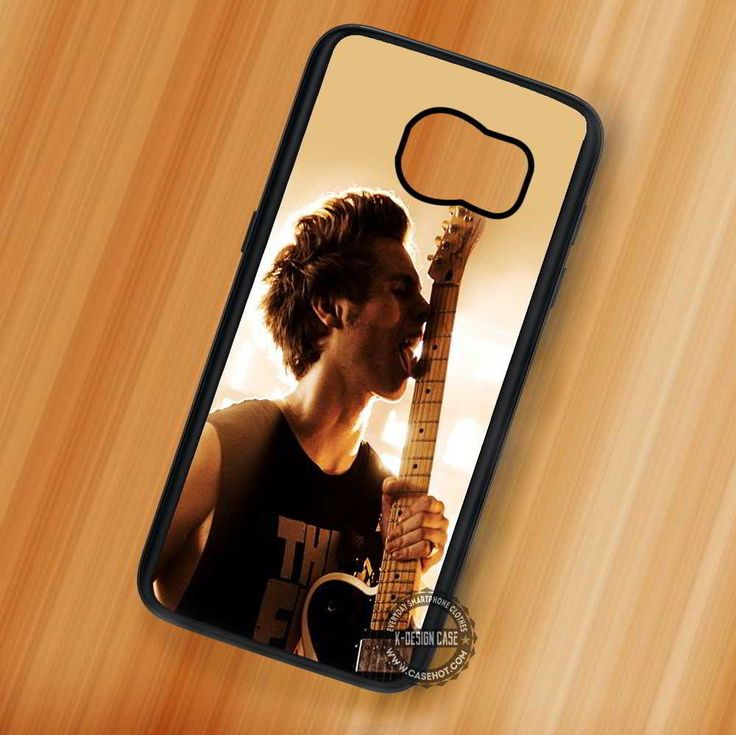 Delicious Guitar Luke Hemmings 5SOS - Samsung Galaxy S7 S6 S5 Note 7 Cases & Covers