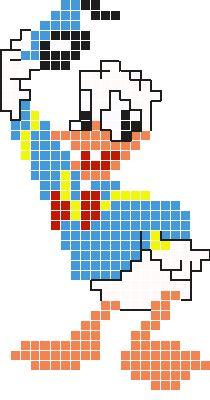 Donald Duck strijkkralen