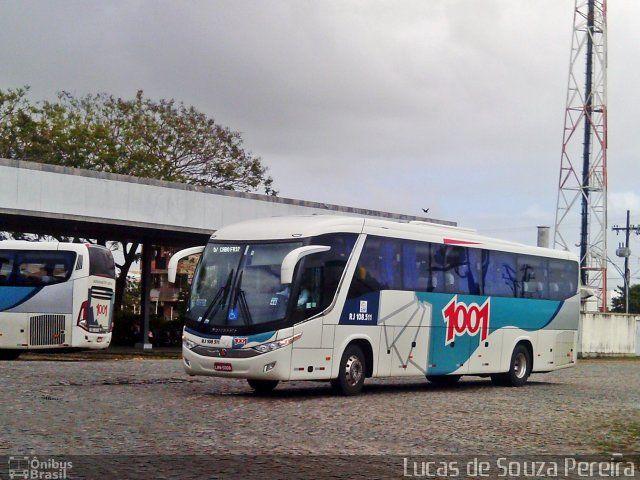 Ônibus da empresa Auto Viação 1001, carro RJ 108.511, carroceria Marcopolo Paradiso G7 1050, chassi Volvo B11R. Foto na cidade de Campos dos Goytacazes-RJ por Lucas de Souza Pereira, publicada em 29/09/2013 03:11:01.