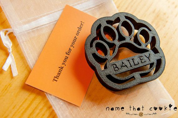 Goldendoodle Dog Cookie Cutter Custom Treat by NameThatCookie
