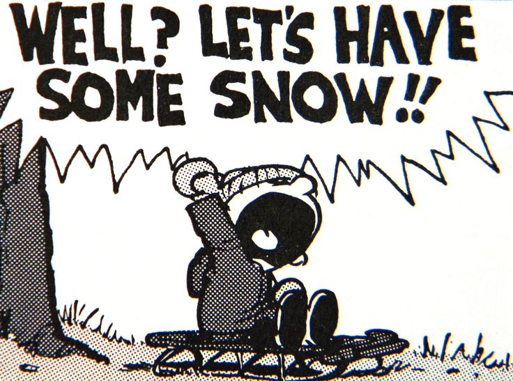 Image result for calvin and hobbes waiting for snow