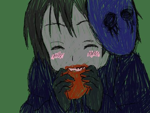 Omnomnom Eyeless Jack by inside-our-mind.deviantart.com on @deviantART