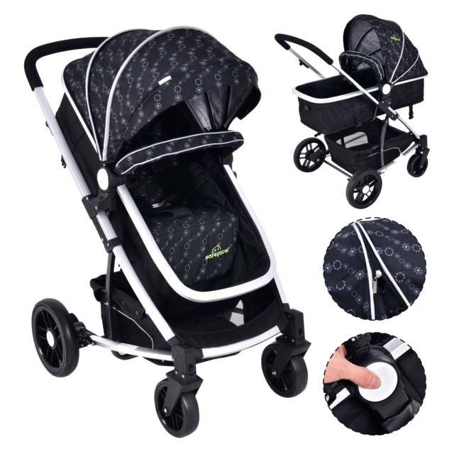 Schwarz Kinderwagen 2 In 1 Baby Kinderwagen Kinder Reisen Baby Buggy Kinderwagen Schwarz Pink Und Schwarz Kinder Kinderwagen Kinderwagen Schwarz