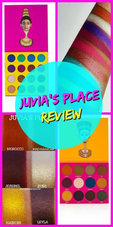 Juvias Place Palette Review ~ Nubian 2 and Masquerade