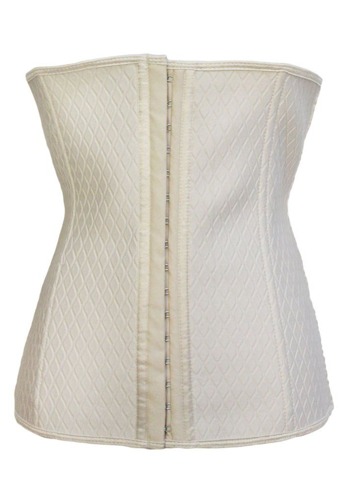 Grande Taille Corsets Apricot Grille Underbust Corset – Modebuy.com