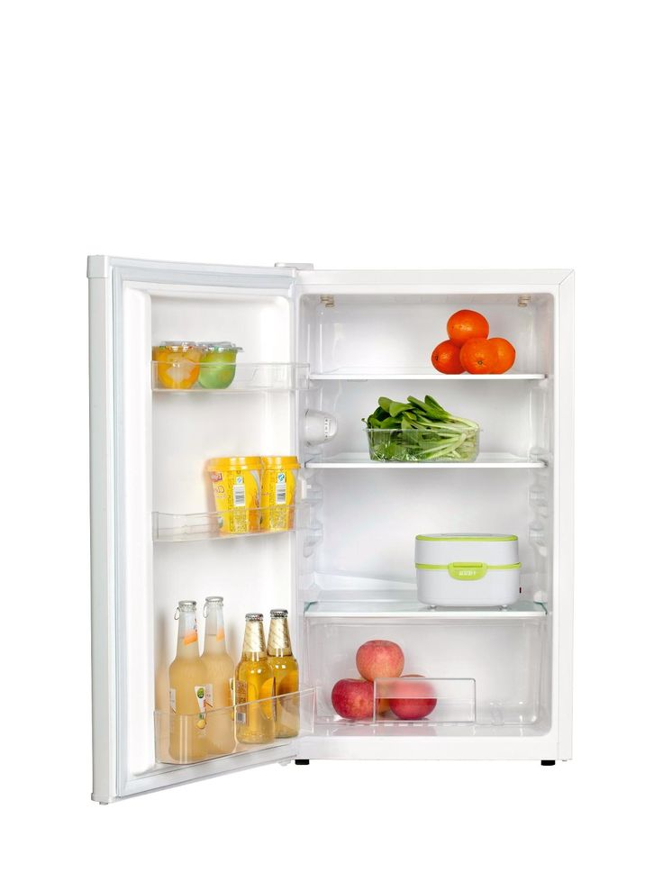 This great value 50 cm under-counter fridge slots neatly under your kitchen top and has all the room you need for your shopping. This 106-litre fridge features 2 safety glass shelves and a salad container, making it easy to find what you're looking for quickly.It's rated A+ for energy, ensuring your bills are kept to a minimum while taking care of the environment.This under-counter fridge also features a reversible door, so it can be slotted into any corner. A matching under-counter larder…